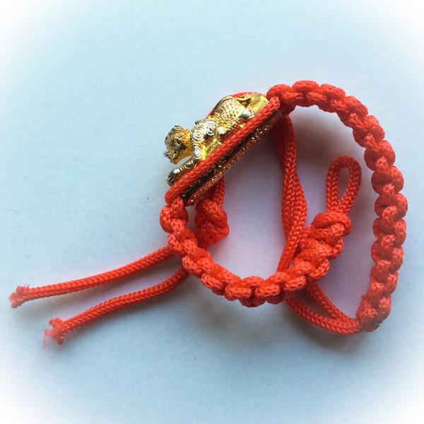Takrut Hanuman Thaway Sue Sadtya - Loyal Servant of Rama bracelet - Wai Kroo Luang Por Phern Wat Bang Pra 2557 BE Extra Blessing by Luang Pi Pant