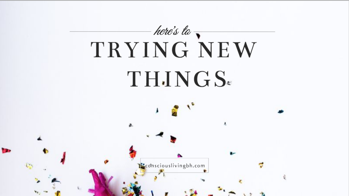 Here's to: Trying New Things - Workshop Session (on demand access)