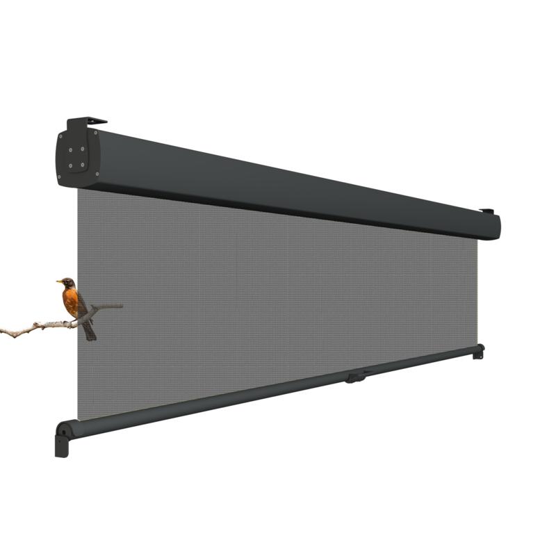 Vita zon+ windscherm (Soltis 92 doek) verticaal uitrolbaar tot 260 cm