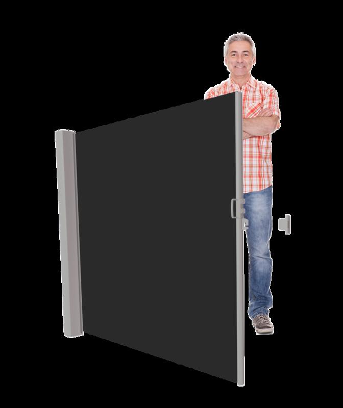 LAAG Inova Privacyscherm Cassettehoogte 120 t/m 185 cm