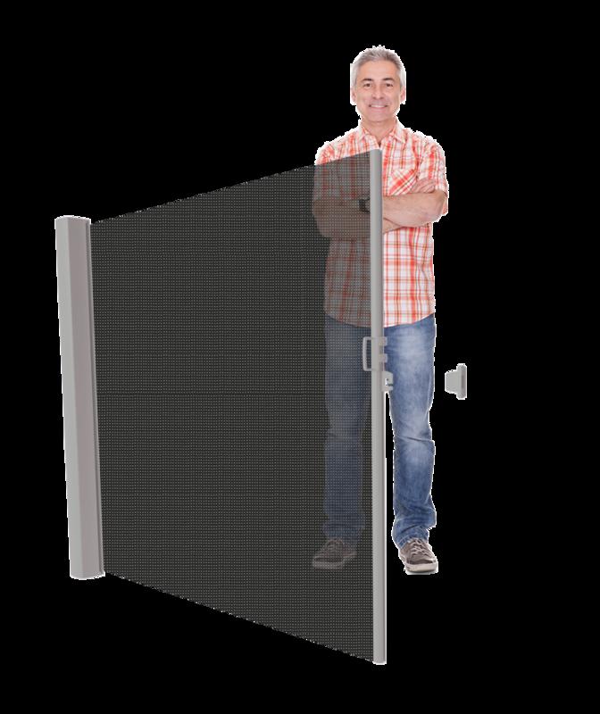 LAAG Inova windscherm Cassettehoogte 120 t/m 185 cm