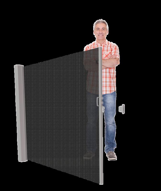 LAAG Inova zon+windscherm Cassettehoogte 120 t/m 185 cm