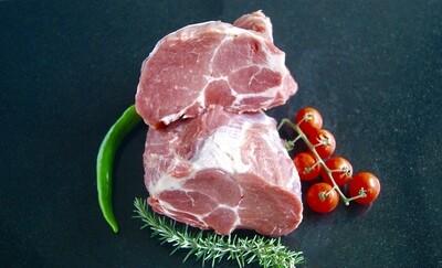 Varkensnek/ Procureur zonder been 1 Kilo voor € 8,99