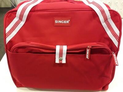 Draagtas naaimachine Singer rood