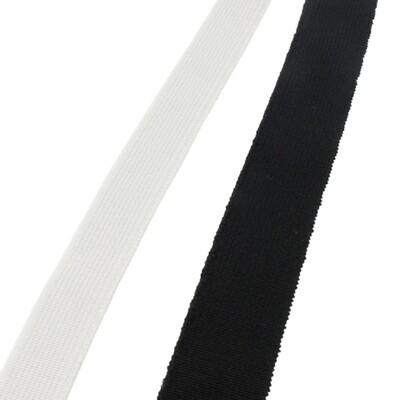 Elastiek voor mondmaskers 5mm wit 10 meter