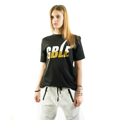 T-SHIRT GOLD BASIC BLACK (WOMAN)