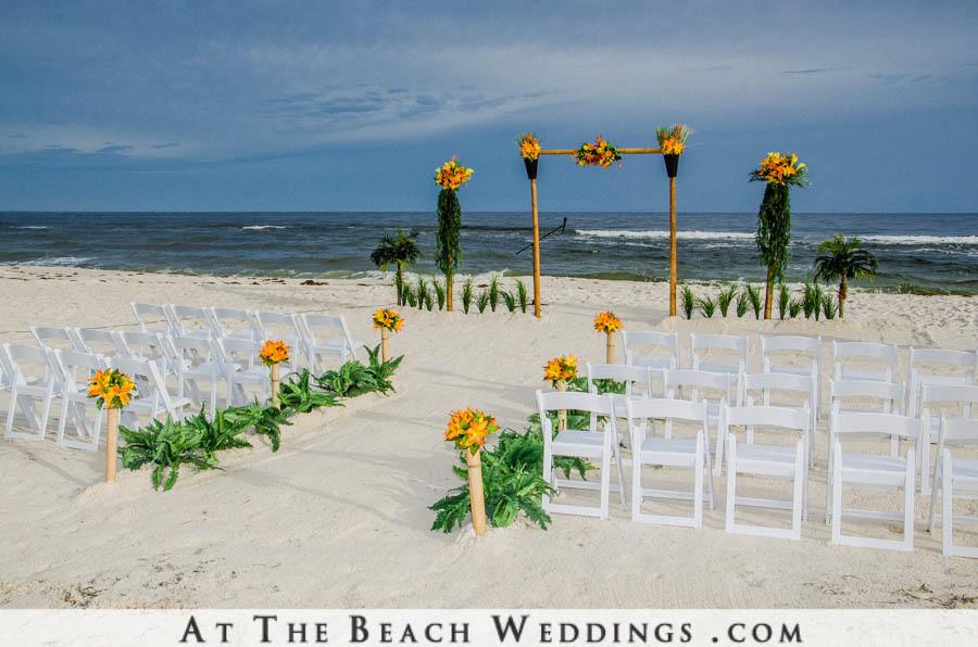 Bamboo Garden of Love - Beach Wedding Package