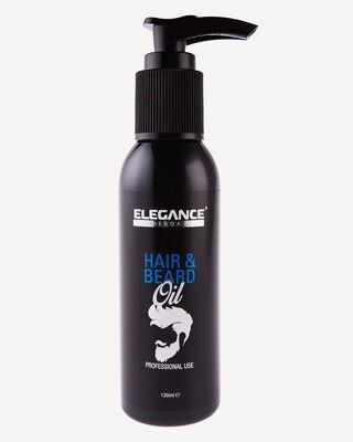 Прозрачное масло для волос и бороды Elegance Hair&Beard Oil CLEAR 120ml