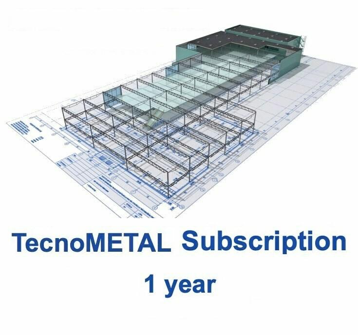 TecnoMETAL SUBSCRIPTION 1 year