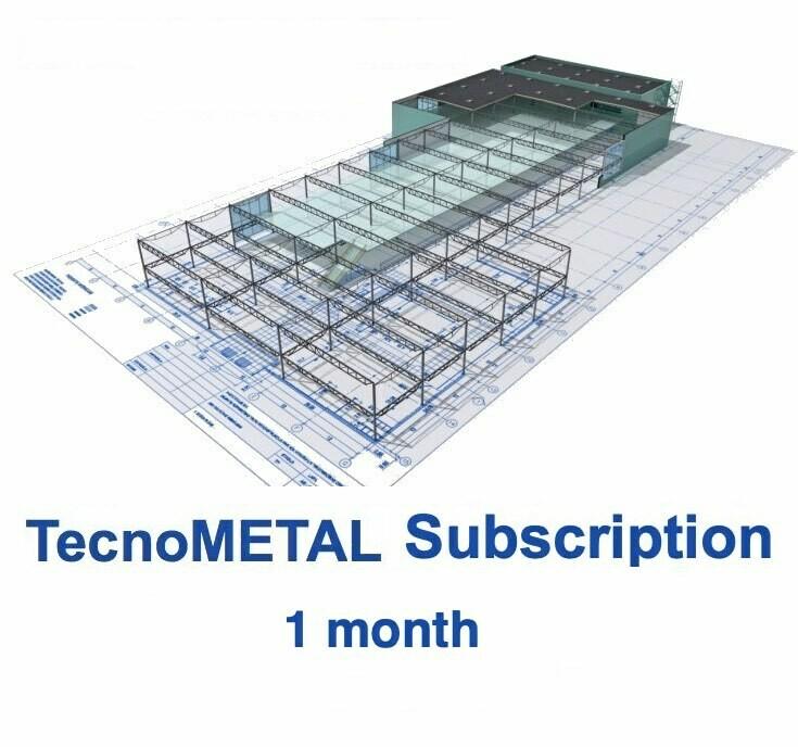 TecnoMETAL SUBSCRIPTION 1 month