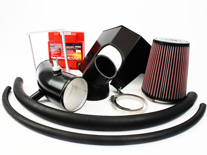 Ford Falcon BA/BF Turbo 4″ Cold Air Intake, Airbox & Battery