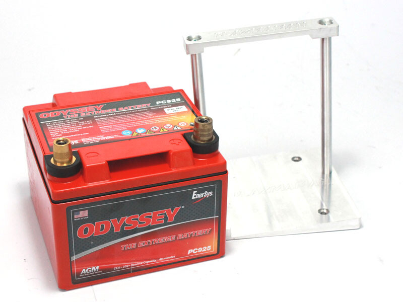 Ford Falcon BA/BF Battery & CNC Billet Mounting Kit