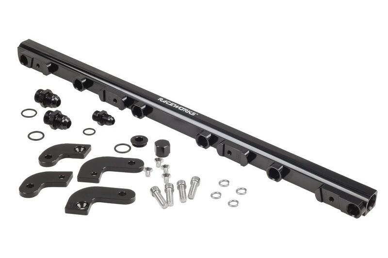 Raceworks Fuel Rail Ford Falcon FG 6cyl – Black