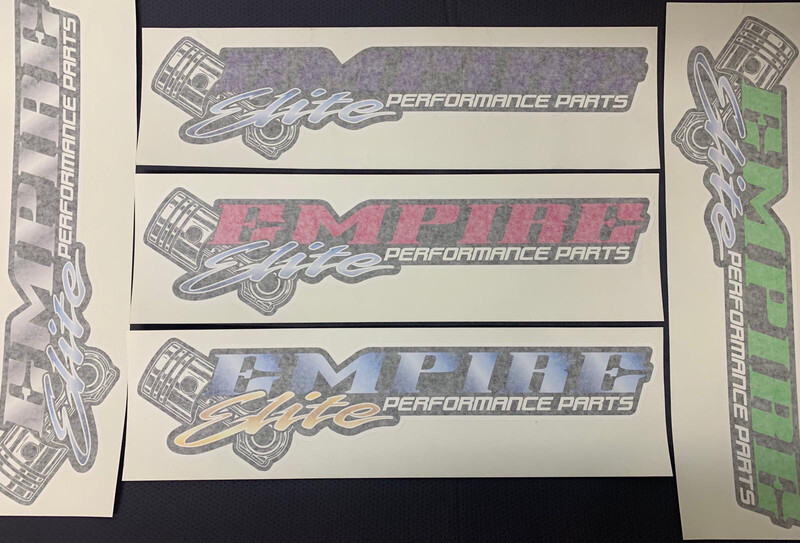 Empire Elite Sticker - 500mm