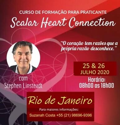 Curso de Formação de Praticante de Scalar Heart Connection - 25 & 26 de Julho de 2020, Rio de Janeiro, Brasil