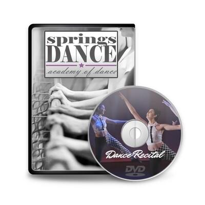 Evening Show - Springs Dance DVD