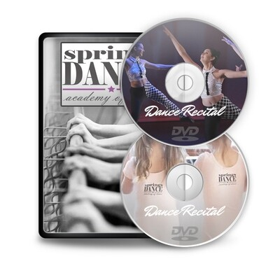 Evening and Matinee Shows - Springs Dance DVD