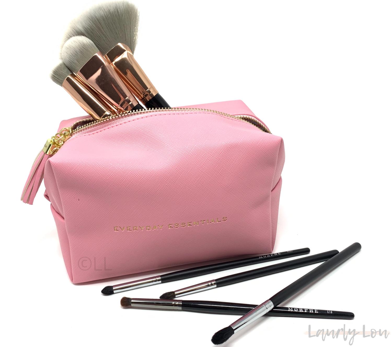 Cosmetics Bag - Pink 'Everyday Essentials'