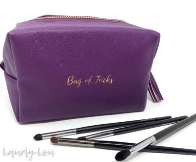 Cosmetics Bag - Purple 'Bag of Tricks'