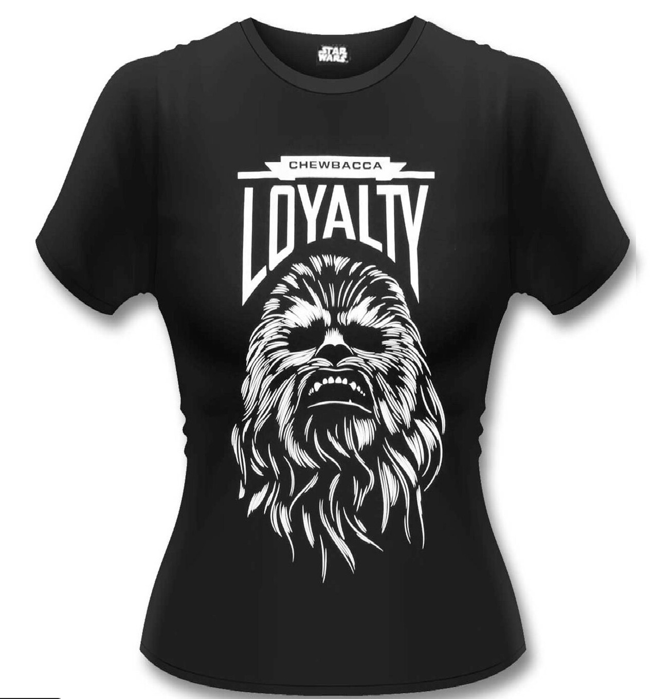 Female Star Wars 'Chewbacca Loyalty Fitted T-Shirt