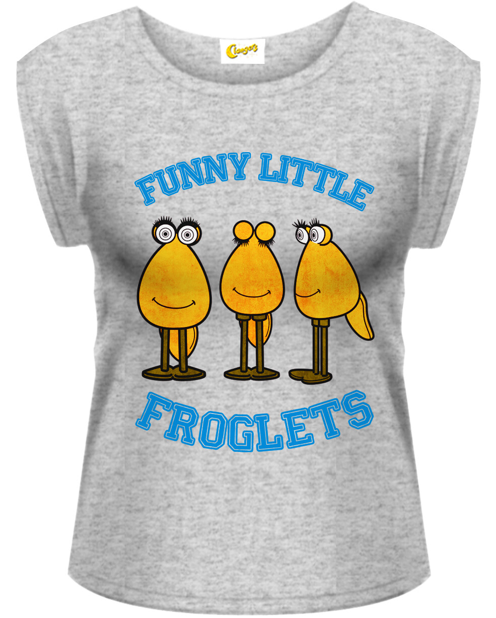 Female Clangers Funny Little Froglets T-Shirt