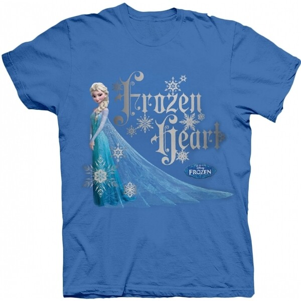 Frozen Frozen Heart Blue T Shirt