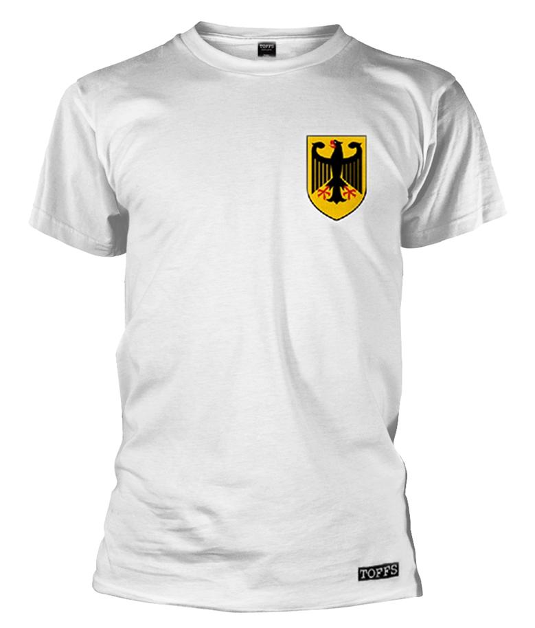 Deutschland Retro Faux Football Top T-Shirt