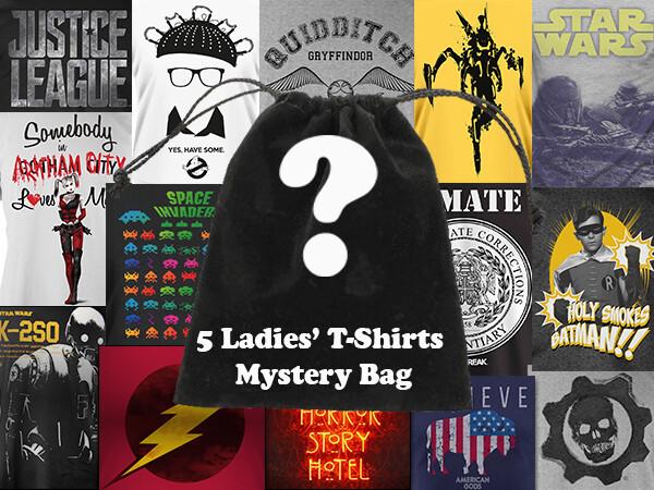 Ladies' 5 T-Shirts Bundle