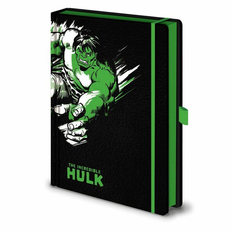 Marvel Hardback Embossed Notebook - The Hulk