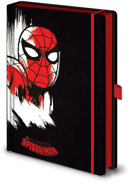 Marvel Hardback Embossed Notebook - Spider-Man