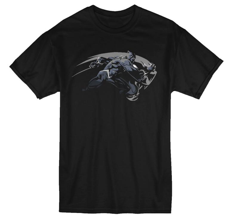 Unisex Marvel Black Panther T-Shirt