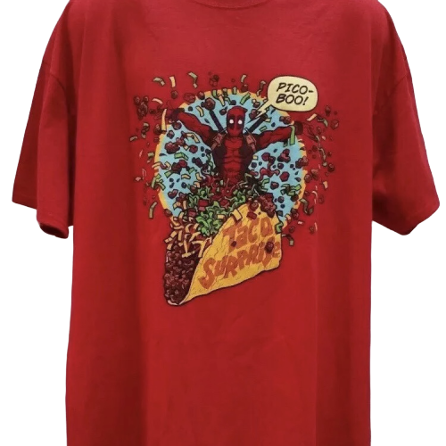Marvel Deadpool 'Taco Surprise' T-Shirt