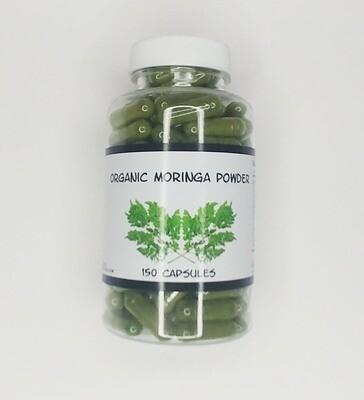 Moringa Olefiera Powder #150 capsules