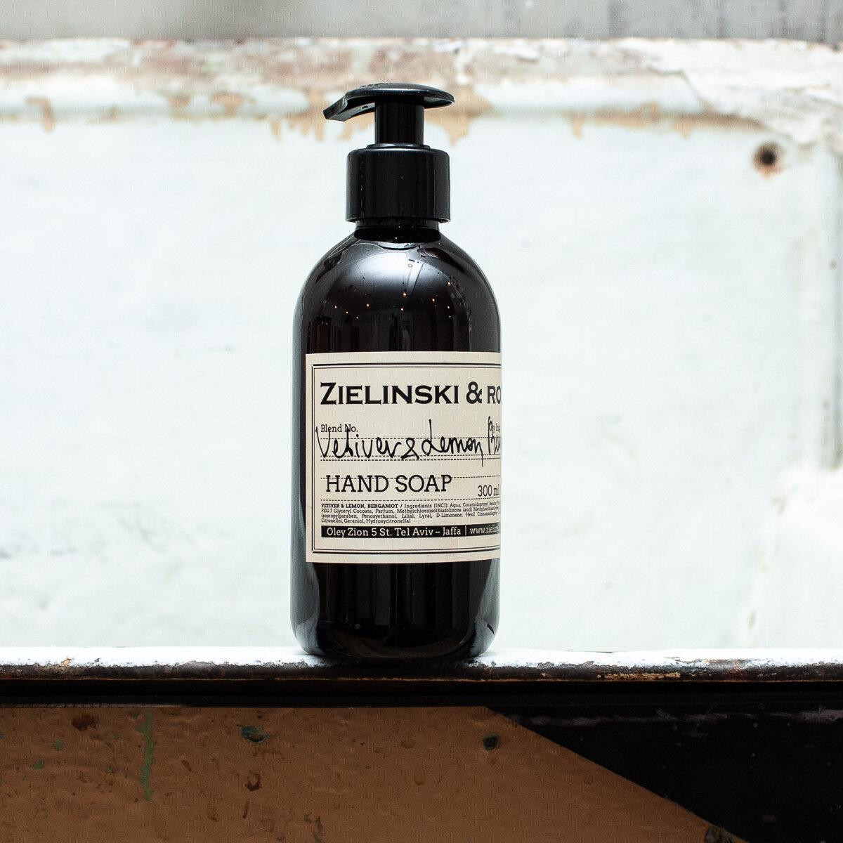 Liquid soap Vetiver & Lemon, Bergamot (300 ml)