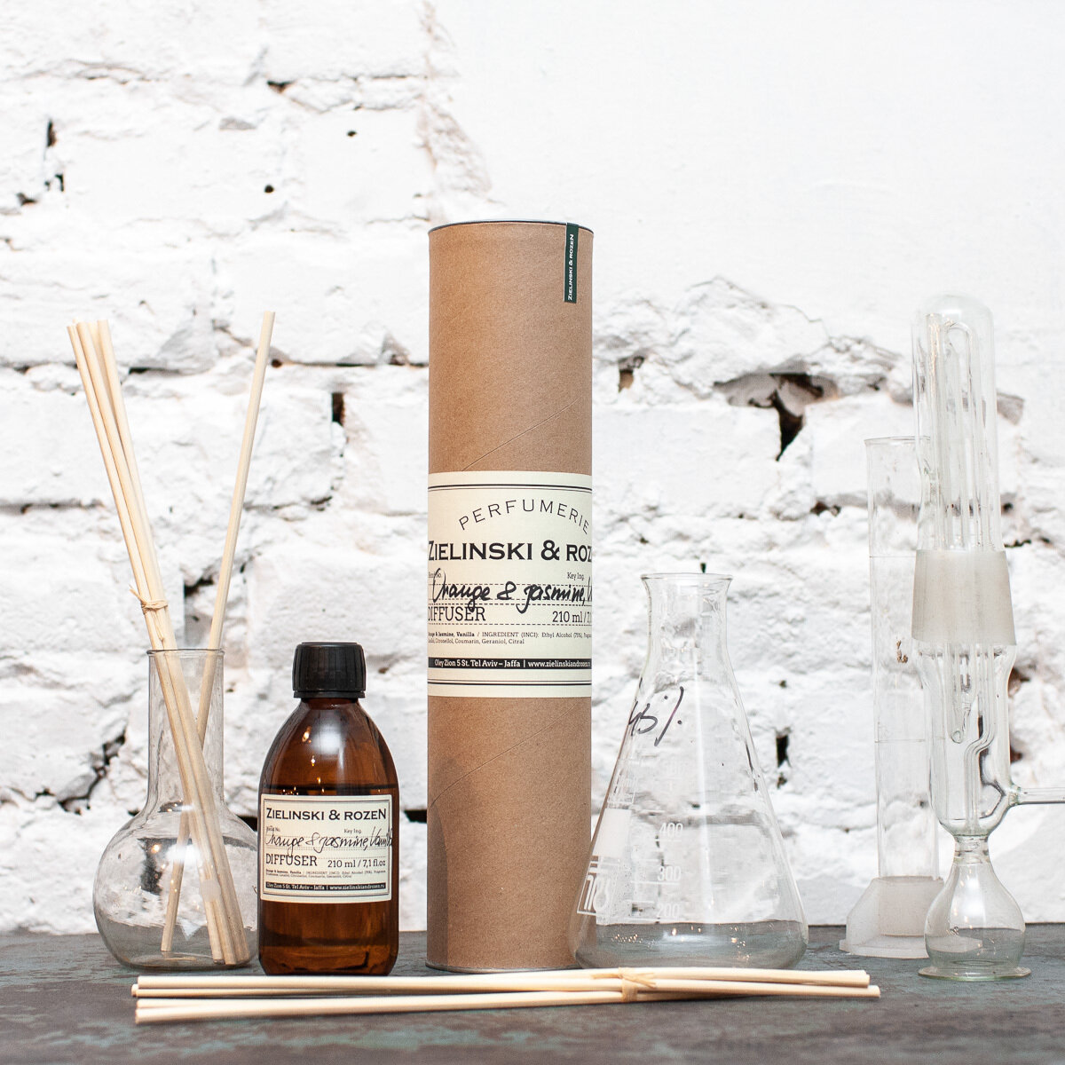 Aromatherapy Diffuser Orange & Jasmine, Vanilla (212,5 ml)