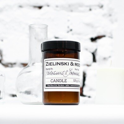 Candle Patchouli & Jasmine, Lemon (125 g)
