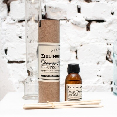 Aromatherapy Diffuser Orange & Jasmine, Vanilla (85 ml)