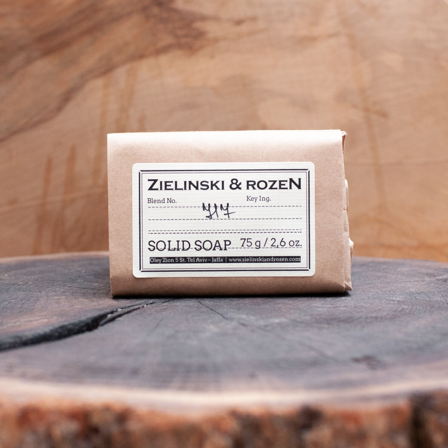 "Solid soap ""717"" (75 g)"