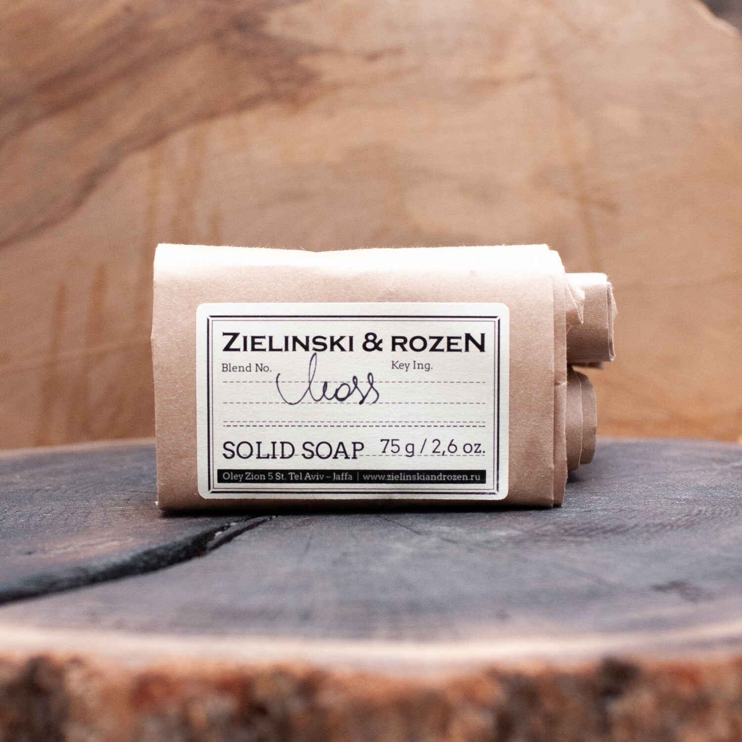 Solid soap MOSS (75 g)