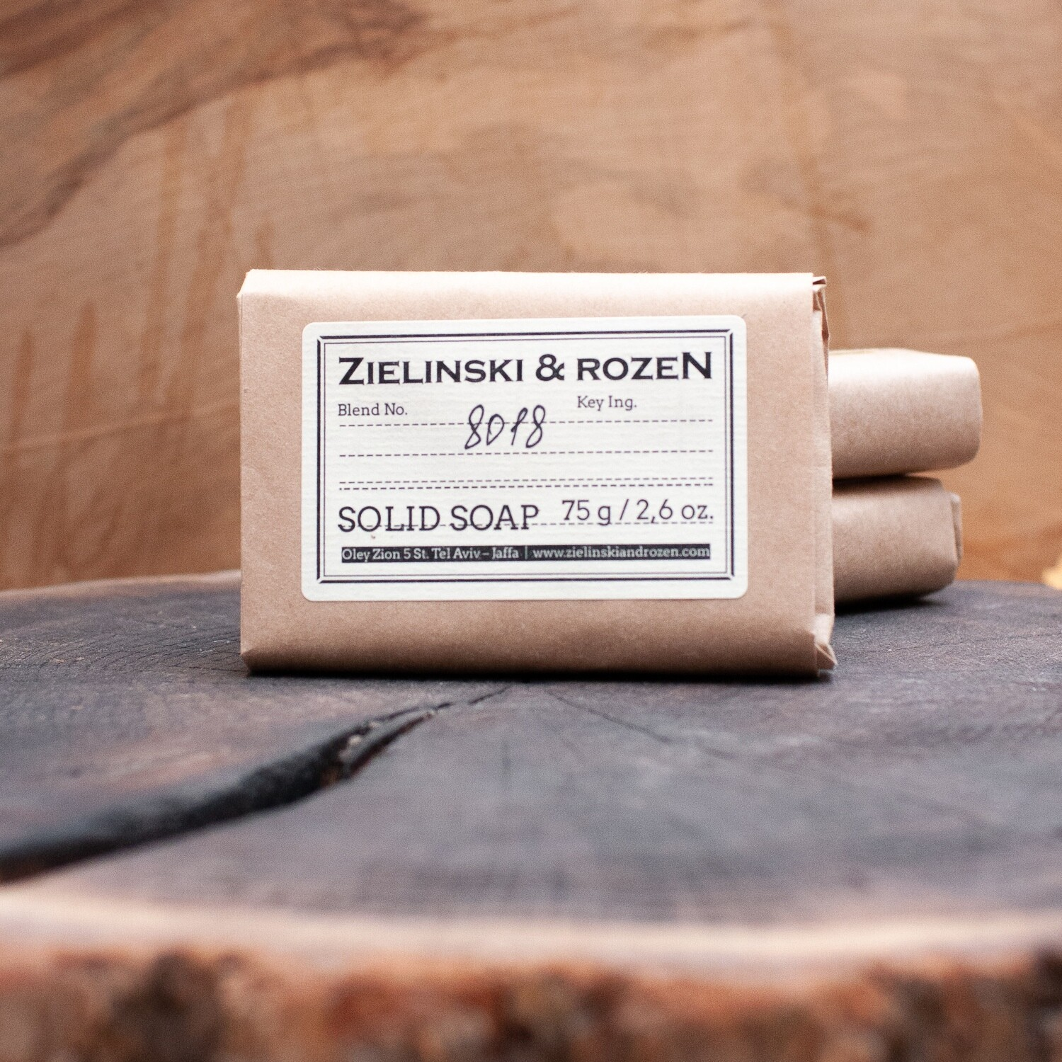 """Solid soap """"8018"""" (75 g)"""