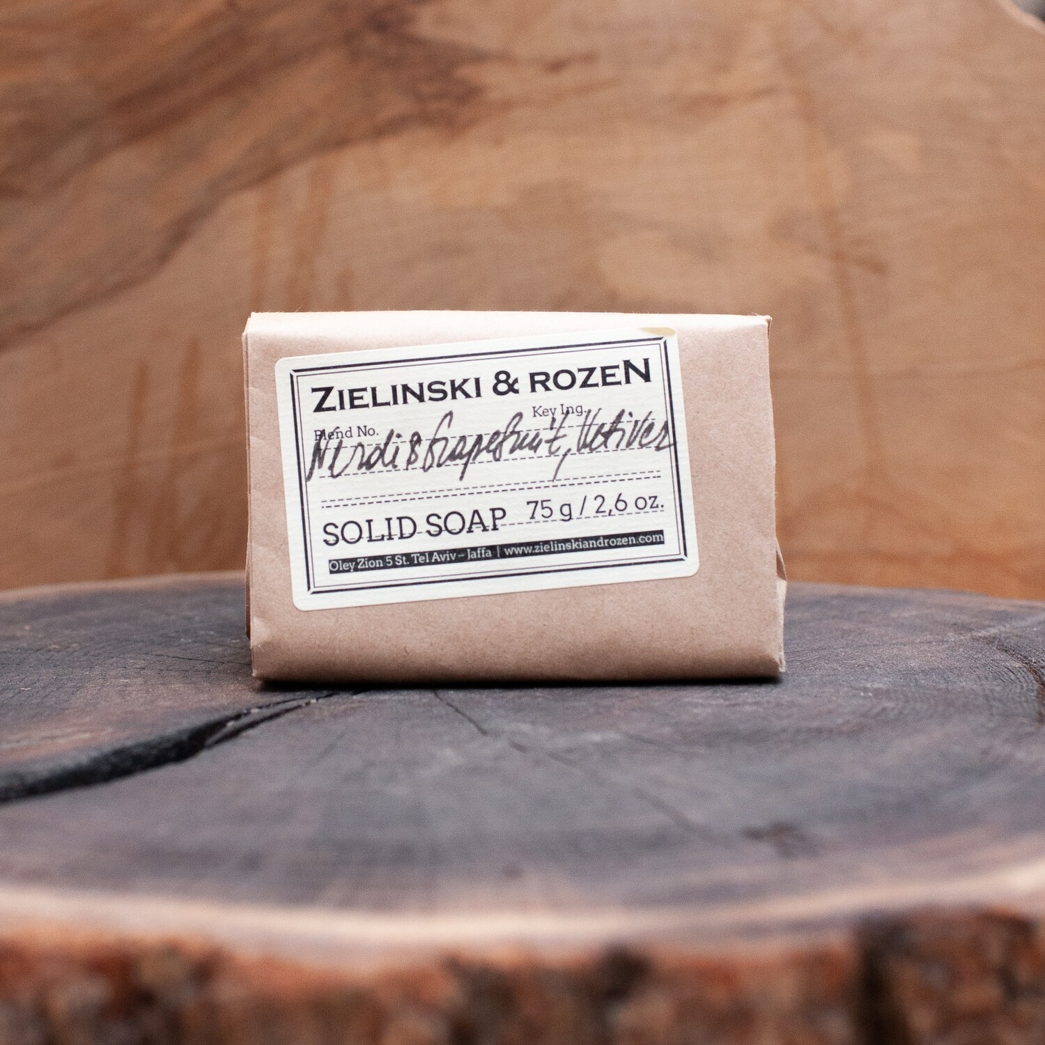 Solid soap Neroli & Grapefruit, Vetiver (75 g)