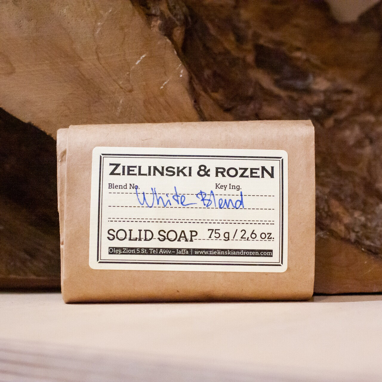 Solid soap WHITE BLEND 12 (75 g)