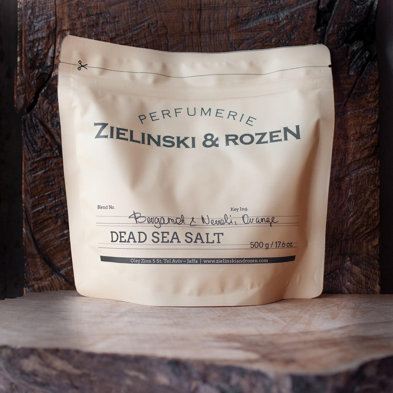 Соль мертвого моря Бергамот, Нероли, Апельсин (500гр)