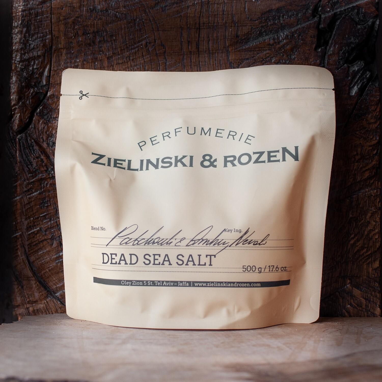 Соль мертвого моря Пачули, Амбра, Нероли (500гр)