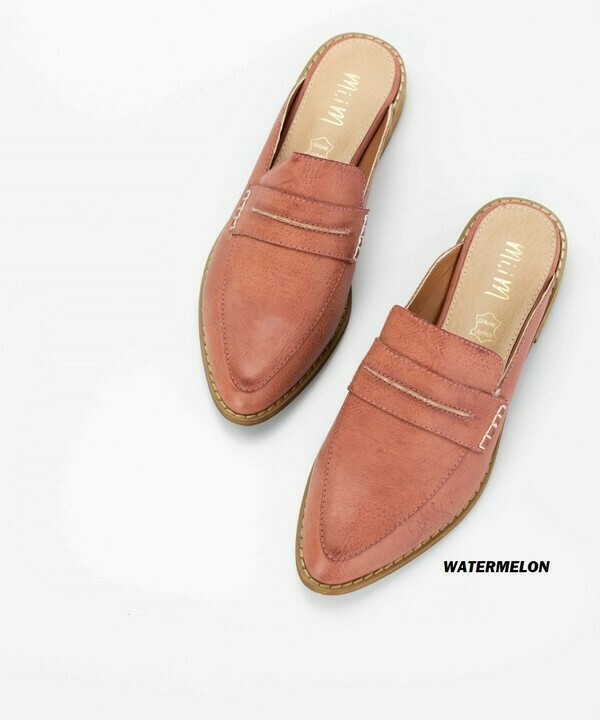 Keep it Classic Loafer Mules