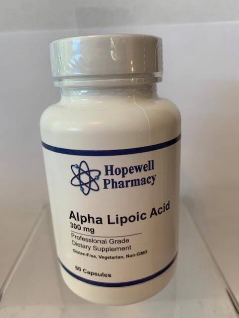 Alpha Lipoic Acid 300mg #60 caps