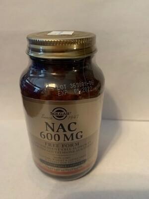 NAC 600mg #120 veggie caps