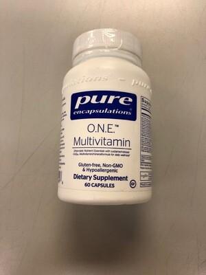O.N.E. Multivitamin #60 capsules