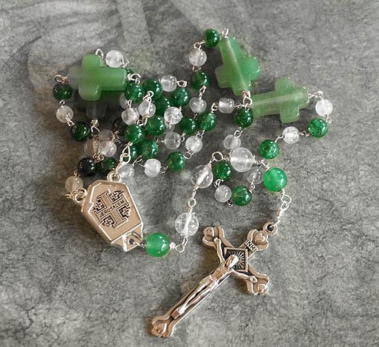 Green Aventurine Rosary