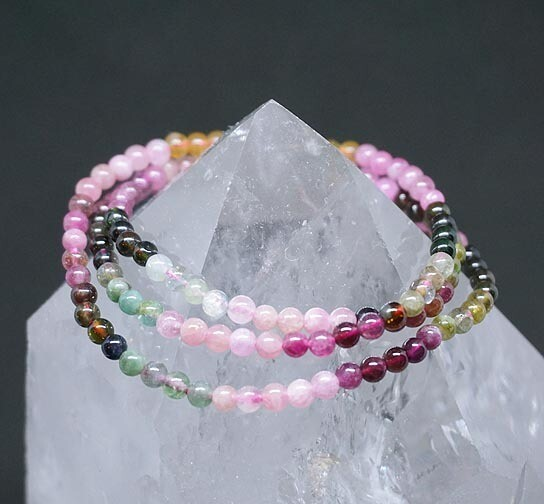 Multi Color Tourmaline Bracelet